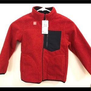 Brand New stylish red children's winter coat